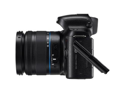 Samsung Kompakte Systemkamera, 20,3Megapixel (NX20), Schwarz - 5
