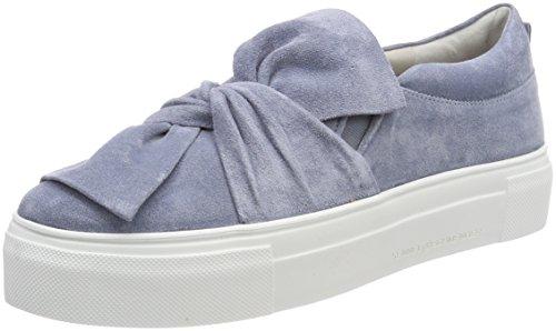 Kennel und Schmenger Damen Big Slip On Sneaker Blau (Cielo Sohle Weiß)