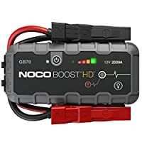 NOCO Genius Boost HD GB70 2000 Amp 12V UltraSafe Lithium