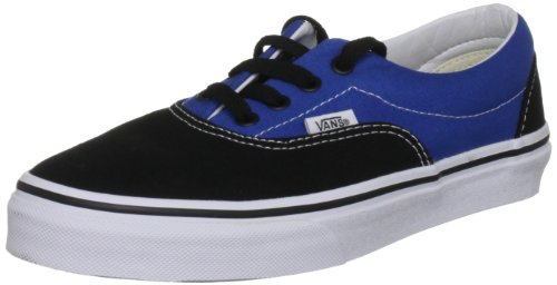 Vans Era, Unisex Erwachsene Laufschuhe, mehrfarbig - 2 Tone Black/Snorkel Blue - Größe: 34 EU (Blue Erwachsenen-california Schuhe)