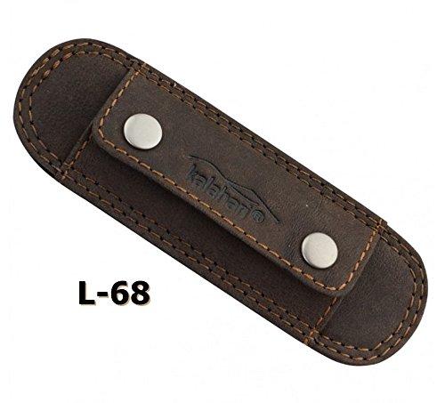 kalahari KAAMA L-68 Schulterpad schmal, Leder (Leder Tasche Schulter Drucken)