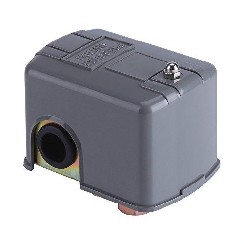Fdit Elektrische 40 60 PSI Wasserpumpe Druckschalter Einstellbare Doppelfederpol mit Niederdruckabschaltung -