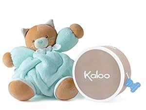 Kaloo - Plume - Peluche Chat Aqua 25 cm