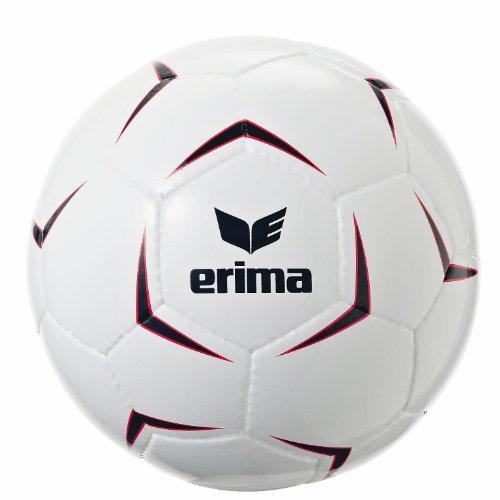 erima Fußball Majestor Match Lite 350, Weiß/Schwarz/Rot, 5, 719108