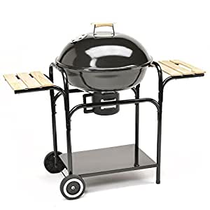 TAINO Kugelgrill 57 cm Durchmesser Holzkohle-Grill Smoker