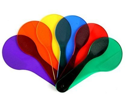 Pack Of 6 Bébé Apprentissage Précoce Montessori Peinture Éducative Couleur Matching Cognition Plastic Beat Enfants Jouets D'entraînement Pour Enfants