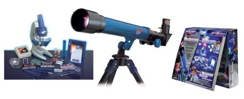 Micro-Science 8803 100/600/1200X microscopio telescopio