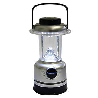 Lampe de camping 15 LED - Lanterne ultra éclairante pour la pêche, la chasse, la maison ou le jardin avec interrupteur de réglage et boussole Par Kurtzy TM
