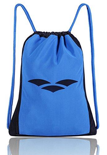 Imagen de mier saco de gimnasia de  para nadar, viajes, deportes, escuela, con bolsillos, 3 colores negro azul