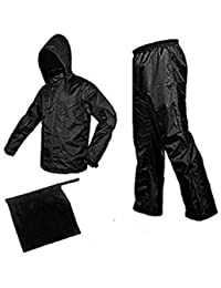 331198dbd09 Generic men s and women s waterproof raincoat with detachable hoods  portable with carry bag (xl)