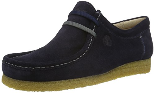Sioux Grashopper-H-141, Mocassins Homme Bleu (Night)