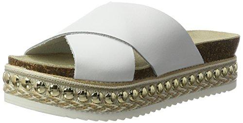 Carvela Kake Np, Sandales Compensées femme Weiß (White)