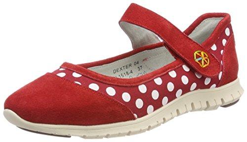 Dexter Red Schuhe (Laura Vita Damen Dexter 04 Mary Jane Halbschuhe, Rot (Rouge), 36 EU)