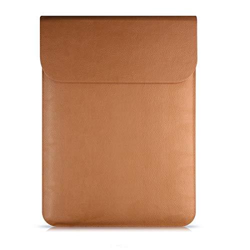 Preisvergleich Produktbild AREDOVL Wasserbeständige Notebook Computer Pocket Tablet Aktentasche Tragetasche / Tasche Haut Abdeckung für 11 Zoll 12 Zoll MacBook Air,  MacBook Pro (Color : Brown,  Size : 12inch)