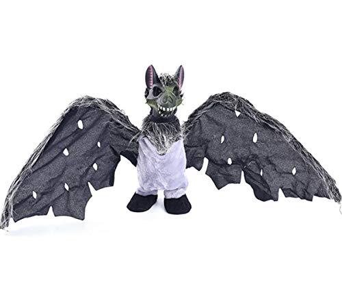 Kostüm Fledermaus Unheimlich - WASAIO Unheimlich Fledermaus gruselig Halloween Partyzubehör