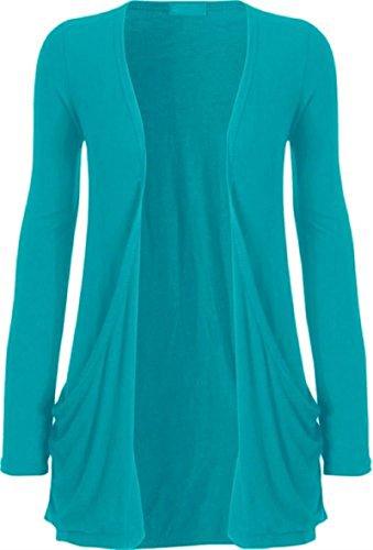 Sugerdiva - Robe - Tunique - Femme Turquoise