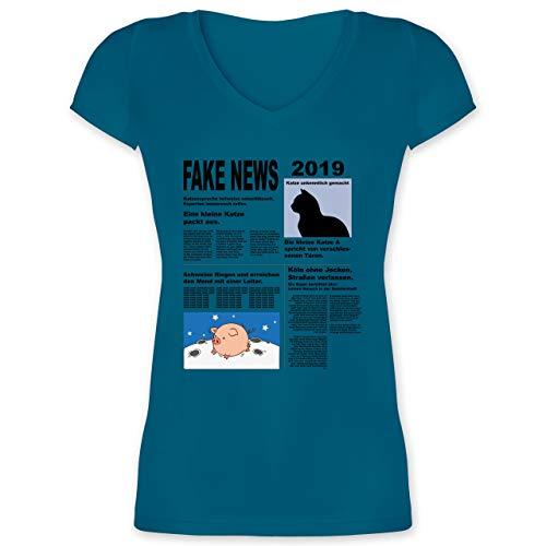 Kostüm Zeitung Damen - Karneval & Fasching - Fake News