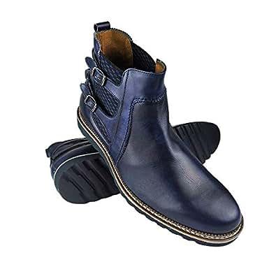 Bild nicht verfügbar. Keine Abbildung vorhanden für. Farbe  Zerimar Stiefel  mit 7 cm Innen steigt Schuhe ... 2910ba44ad