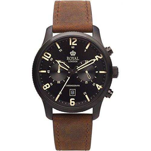 Royal London - Herrenchronograph - braun 41362-03