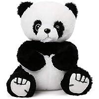 LotFancy Panda en Peluche 20cm, Jouets en Peluche Douce et Mignon Blanc et Noir pour Bébé, Cadeau pour l'anniversaire…