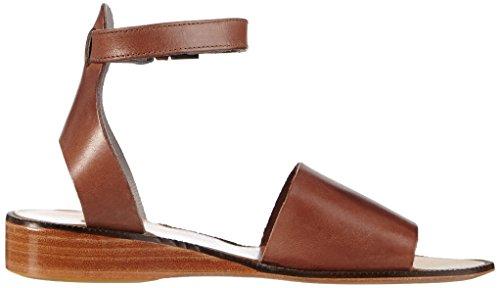 H Shoes Fifa, Sandales à bride et talon compensé femme Marron - Marron (caramel)