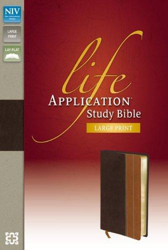 Life Application Study Bible-NIV-Large Print por Zondervan