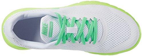 Nike Flex Experience 5 Gs, chaussures de course fille Blanc Cassé (White/electro Green/ghost Green/black)