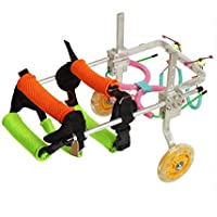 Rollstuhl für Hunde, Medical Drive Hunderollstuhl - hinterer Stützhunde-Katzen-Rollstuhl - Bester Freund - ein Hund