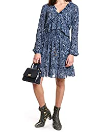 d22503dc7c Michael Kors Michael Women's MU88Y3C9AS361 Blue Polyester Dress
