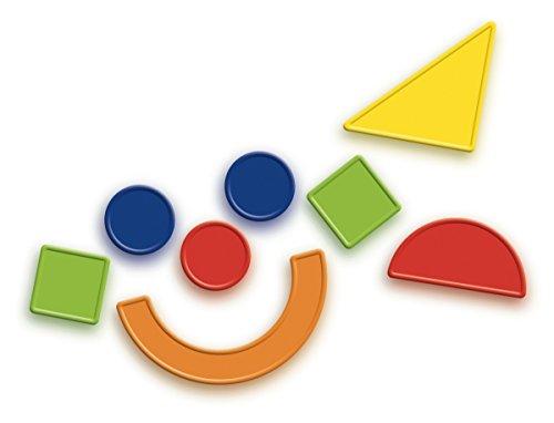 Quercetti - 13/5464 - Juegos Magnetic Shapes 49 pzas Quercetti 4 años