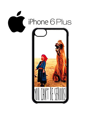 You Can`t Be Serious Camel and Kid Mobile Phone Case Back Cover Hülle Weiß Schwarz for iPhone 6 Plus White Weiß