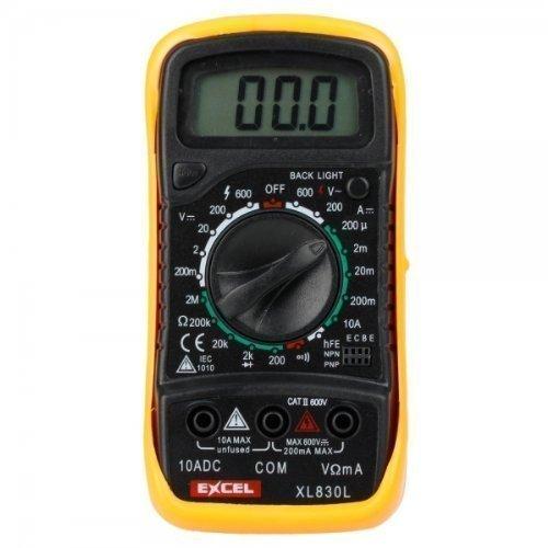 mondpalast @ XL830L Digital 3 1/2 LCD Voltmeter Ammeter Ohmmeter Multimeter