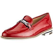 ARA Women's Kent 1231238 Loafer, Red Rot 05, 8 UK