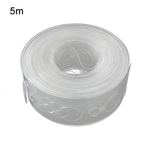 Earlyad Ballon Kettenband Kunststoff Transparent Bogen Garland Strip Kit Arch Streifen Ballon Kleber Punkte Aufkleber für Hochzeit Ballon Dekorationen