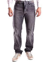 Galliano Herren MCBI130095O Grau Baumwolle Jeans
