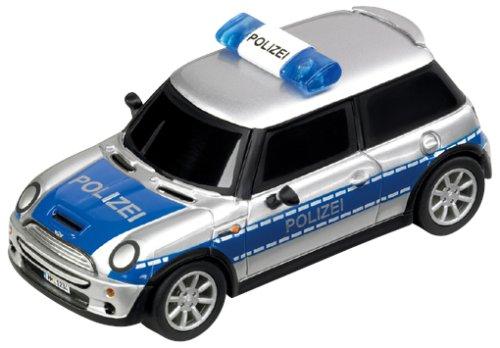 Carrera - 61089 - Go Mini Cooper S - Voiture de Police Allemande