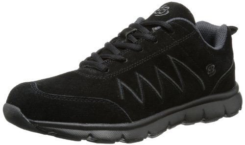 Bruetting  Glendale, Low-top mixte adulte Noir (Schwarz/grau)