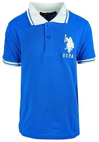 garcons-us-polo-uspa-motif-manche-courte-polo-coton-col-chemise-haut-t-shirt-tailles-de-3-to-12-an-r