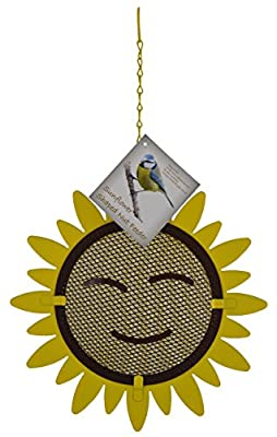 Green Jem Sunflower Shaped Wild Bird Feeder by Green Jem