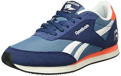 reebok-unisex-erwachsene-royal-classic-jogger-2rs-low-top-blau-blue-ink-slate-atomic-red-white-black