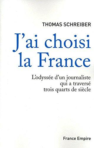 J'AI CHOISI LA FRANCE