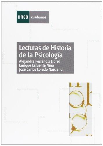 Lecturas de historia de la psicología (CUADERNOS UNED) por Alejandra FERRÁNDIZ LLORET