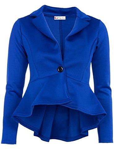 Sugerdiva - Robe - Pull - Femme Bleu