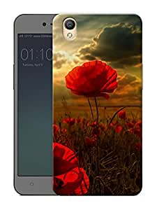 """Humor Gang beautiful flower scenery Printed Designer Mobile Back Cover For """"Oppo A37"""" (3D, Matte Finish, Premium Quality, Protective Snap On Slim Hard Phone Case, Multi Color)"""