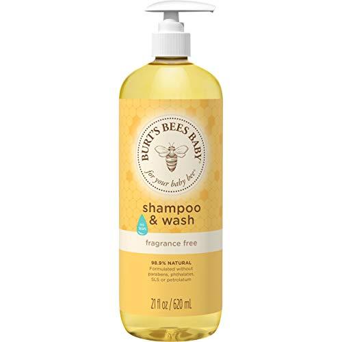 Burt's Bees Baby Bee Shampoo und Körperwäsche, ohne Duft, 53,3 ml