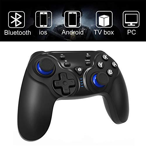 Wireless Controller für Nintendo Switch, EXTSUD kabelloser Game Controller 6-Achsen Somatosensory mit Dual-Vibration Gamepad Controller Joystick Type-C USB für Nintendo Switch/Android/PS3/TV Box