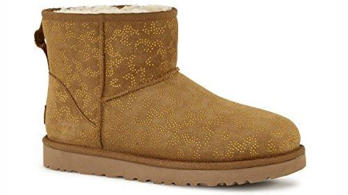 ugg-w-classic-mini-metallic-conifer-bottes-et-boots-women-38-chestnut
