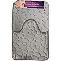 Amazon.co.uk: Silver - Bath Mats / Bathroom: Home & Kitchen