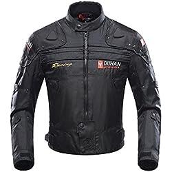 Chaqueta de moto a prueba de viento motocicleta armadura de equipo de protección otoño invierno verano para hombre de toda estaciòn