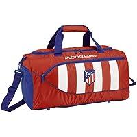 Club Atlético de Madrid Bolsa Deporte Bolso de Viaje 50 cm, Rojo